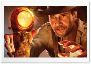 Indiana Jones And The Staff Of Kings HD Wide Wallpaper for Widescreen