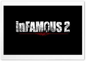 inFAMOUS 2 Logo HD Wide Wallpaper for 4K UHD Widescreen desktop & smartphone