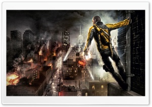 Infamous HD Wide Wallpaper for Widescreen
