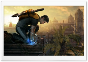 inFAMOUS 2 HD Wide Wallpaper for Widescreen