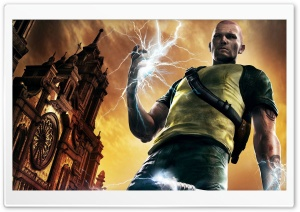 inFAMOUS 2 HD Wide Wallpaper for 4K UHD Widescreen desktop & smartphone