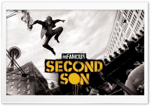 inFAMOUS Second Son HD Wide Wallpaper for Widescreen