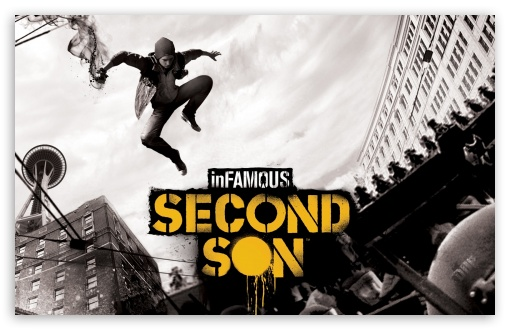 inFAMOUS Second Son HD wallpaper for Wide 16:10 5:3 Widescreen WHXGA WQXGA WUXGA WXGA WGA ; HD 16:9 High Definition WQHD QWXGA 1080p 900p 720p QHD nHD ; Standard 5:4 3:2 Fullscreen QSXGA SXGA DVGA HVGA HQVGA devices ( Apple PowerBook G4 iPhone 4 3G 3GS iPod Touch ) ; Mobile 5:3 3:2 16:9 5:4 - WGA DVGA HVGA HQVGA devices ( Apple PowerBook G4 iPhone 4 3G 3GS iPod Touch ) WQHD QWXGA 1080p 900p 720p QHD nHD QSXGA SXGA ;