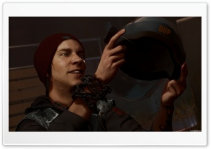 Infamous Second Son 2 HD Wide Wallpaper for Widescreen