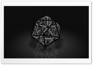 Infinite Icosahedron HD Wide Wallpaper for 4K UHD Widescreen desktop & smartphone