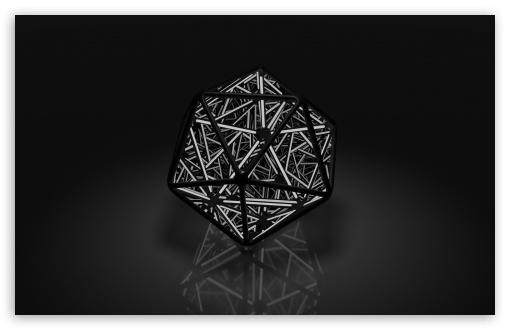 Download Infinite Icosahedron HD Wallpaper