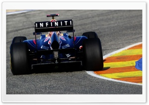 Infiniti Formula 1 HD Wide Wallpaper for Widescreen