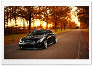 Infiniti G37 HD Wide Wallpaper for Widescreen