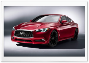 Infiniti Q60 2017 HD Wide Wallpaper for 4K UHD Widescreen desktop & smartphone