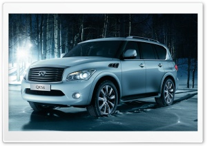 Infiniti QX56 HD Wide Wallpaper for 4K UHD Widescreen desktop & smartphone