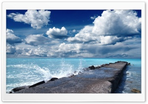 Infinity Blue HD Wide Wallpaper for Widescreen