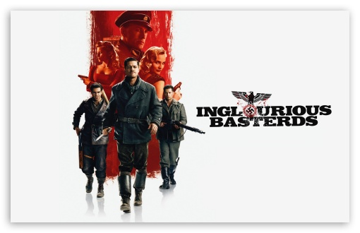 Inglourious Basterds HD wallpaper for Wide 16:10 5:3 Widescreen WHXGA WQXGA WUXGA WXGA WGA ; HD 16:9 High Definition WQHD QWXGA 1080p 900p 720p QHD nHD ; Standard 4:3 5:4 3:2 Fullscreen UXGA XGA SVGA QSXGA SXGA DVGA HVGA HQVGA devices ( Apple PowerBook G4 iPhone 4 3G 3GS iPod Touch ) ; iPad 1/2/Mini ; Mobile 4:3 5:3 3:2 16:9 5:4 - UXGA XGA SVGA WGA DVGA HVGA HQVGA devices ( Apple PowerBook G4 iPhone 4 3G 3GS iPod Touch ) WQHD QWXGA 1080p 900p 720p QHD nHD QSXGA SXGA ;