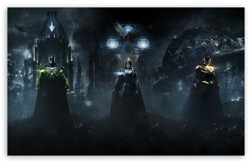 Injustice 2 Superman Hd Games 4k Wallpapers Images: Superman, Supergirl, Batman 4K HD Desktop