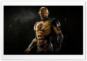 Injustice 2 Reverse-Flash HD Wide Wallpaper for Widescreen