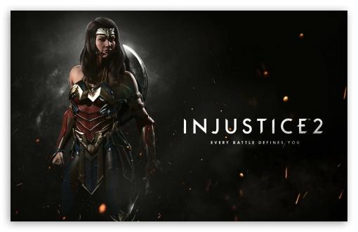 Wonder Woman Movie 4k Hd Desktop Wallpaper For 4k Ultra Hd Tv: Injustice 2 Wonder Woman 4K HD Desktop Wallpaper For 4K