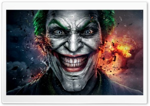 Injustice God Among Us Joker Face HD Wide Wallpaper for Widescreen