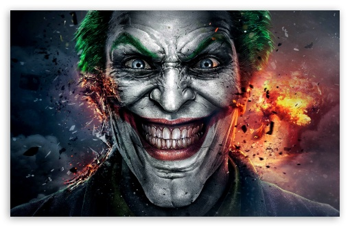 Injustice God Among Us Joker Face 4k Hd Desktop Wallpaper
