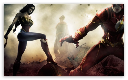 Injustice Gods Among Us HD wallpaper for Wide 5:3 Widescreen WGA ; HD 16:9 High Definition WQHD QWXGA 1080p 900p 720p QHD nHD ; Mobile 5:3 16:9 - WGA WQHD QWXGA 1080p 900p 720p QHD nHD ;