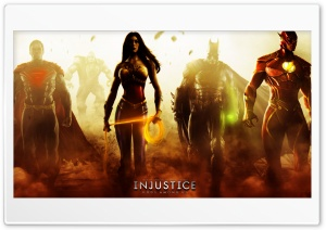 Injustice Gods Among Us (2013) HD Wide Wallpaper for Widescreen
