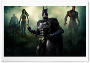 Injustice Gods Among Us - Batman HD Wide Wallpaper for Widescreen
