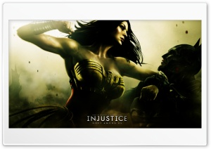 Injustice Gods Among Us - Batman vs Wonder Woman HD Wide Wallpaper for Widescreen