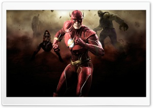Injustice Gods Among Us - Flash Ultra HD Wallpaper for 4K UHD Widescreen desktop, tablet & smartphone