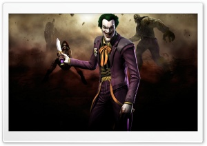 Injustice Gods Among Us - Joker HD Wide Wallpaper for Widescreen