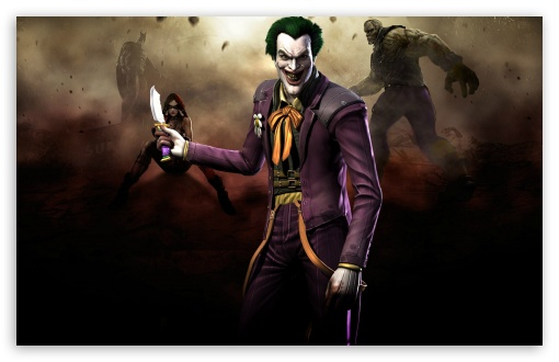 Injustice Gods Among Us - Joker HD wallpaper for Wide 16:10 5:3 Widescreen WHXGA WQXGA WUXGA WXGA WGA ; HD 16:9 High Definition WQHD QWXGA 1080p 900p 720p QHD nHD ; Standard 4:3 5:4 3:2 Fullscreen UXGA XGA SVGA QSXGA SXGA DVGA HVGA HQVGA devices ( Apple PowerBook G4 iPhone 4 3G 3GS iPod Touch ) ; Tablet 1:1 ; iPad 1/2/Mini ; Mobile 4:3 5:3 3:2 16:9 5:4 - UXGA XGA SVGA WGA DVGA HVGA HQVGA devices ( Apple PowerBook G4 iPhone 4 3G 3GS iPod Touch ) WQHD QWXGA 1080p 900p 720p QHD nHD QSXGA SXGA ;