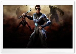Injustice Gods Among Us - Nightwing HD Wide Wallpaper for 4K UHD Widescreen desktop & smartphone