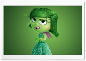 Inside Out 2015 Disgust - Disney, Pixar HD Wide Wallpaper for 4K UHD Widescreen desktop & smartphone