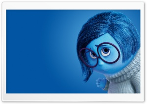 Inside Out Sadness - Disney, Pixar HD Wide Wallpaper for Widescreen