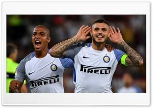 Inter  Icardi Joao Mario roma Ultra HD Wallpaper for 4K UHD Widescreen desktop, tablet & smartphone