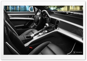 Interior Porsche Panamera Stingray HD Wide Wallpaper for Widescreen