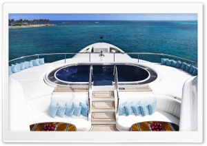 Interior View From Yacht HD Wide Wallpaper for Widescreen