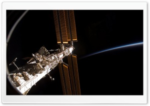 International Space Station Ultra HD Wallpaper for 4K UHD Widescreen desktop, tablet & smartphone