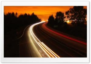 Interstate Highway HD Wide Wallpaper for Widescreen