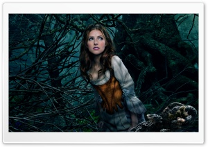 Into the Woods Anna Kendrick as Cinderella HD Wide Wallpaper for Widescreen