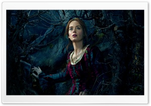 Into the Woods Emily Blunt as The Baker's Wife HD Wide Wallpaper for Widescreen