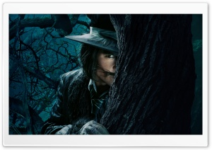 Into The Woods Johnny Depp As The Wolf HD Wide Wallpaper for 4K UHD Widescreen desktop & smartphone