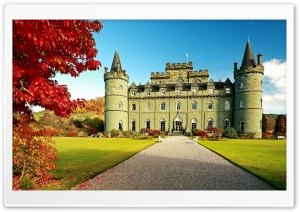 Inveraray Castle, United Kingdom HD Wide Wallpaper for 4K UHD Widescreen desktop & smartphone