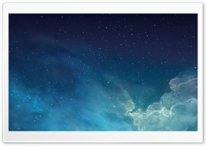 iOS 7 Galaxy HD Wide Wallpaper for Widescreen