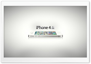 iPhone 4S - Embrace the Future Ultra HD Wallpaper for 4K UHD Widescreen desktop, tablet & smartphone
