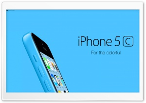 iPhone 5C Blue For Colorful HD Wide Wallpaper for Widescreen