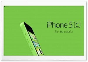 iPhone 5C Green For Colorful Ultra HD Wallpaper for 4K UHD Widescreen desktop, tablet & smartphone