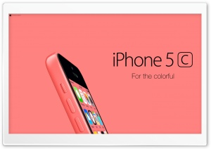 iPhone 5C Red For Colorful HD Wide Wallpaper for Widescreen