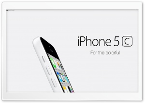 iPhone 5C White For Colorful Ultra HD Wallpaper for 4K UHD Widescreen desktop, tablet & smartphone