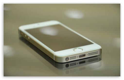 Iphone 5s Gold 4K HD Desktop Wallpaper For 4K Ultra HD TV