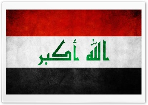 Iraq Flag HD Wide Wallpaper for Widescreen