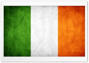 Ireland Flag HD Wide Wallpaper for 4K UHD Widescreen desktop & smartphone