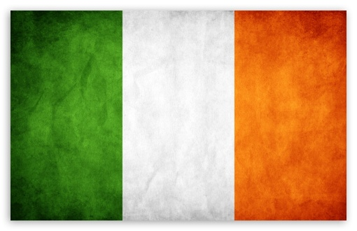 Ireland Wallpaper Hd Widescreen Flag